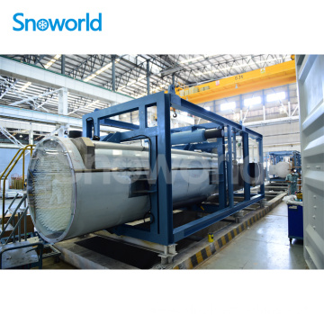 Snoworld Reliable Tube Ice Maker Factory