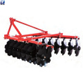 Tractor trailed disc rotary harrow with parts