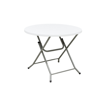 Waterproof 36 Inch Round Custom Plastic Folding Table