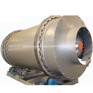 Triple Pass Rotary Drum Dryer Machine For Sand