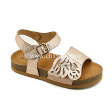 Fashion Flats Cork Sole Litter Girl Sandals
