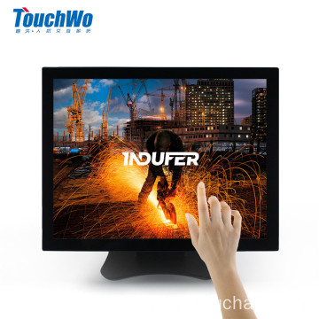 17 inch wall mount touch screen monitor