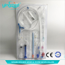 Disposable Medical Sterile Hemodialysis Catheteer Kit