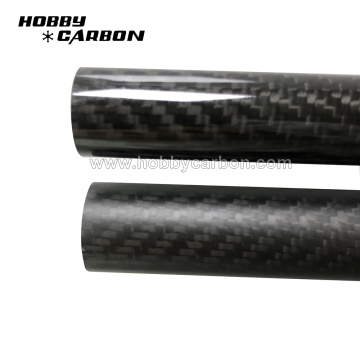 I-100% real carbon fiber composite tube