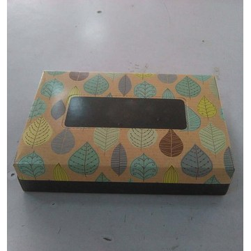 100% Virgin wood Pulp facial box tissue