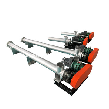 new design cement single tube screw conveyor
