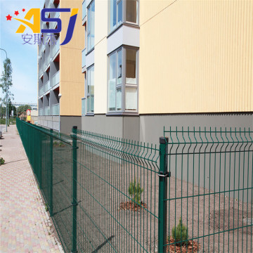 3d curved wire mesh fencing football fence