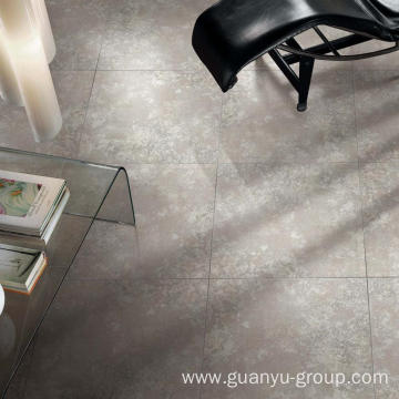 Luxury White Metal Glazed Porcelain Tile