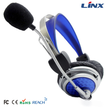 Computer Stereo Call Center USB Headphone Gaming Headset