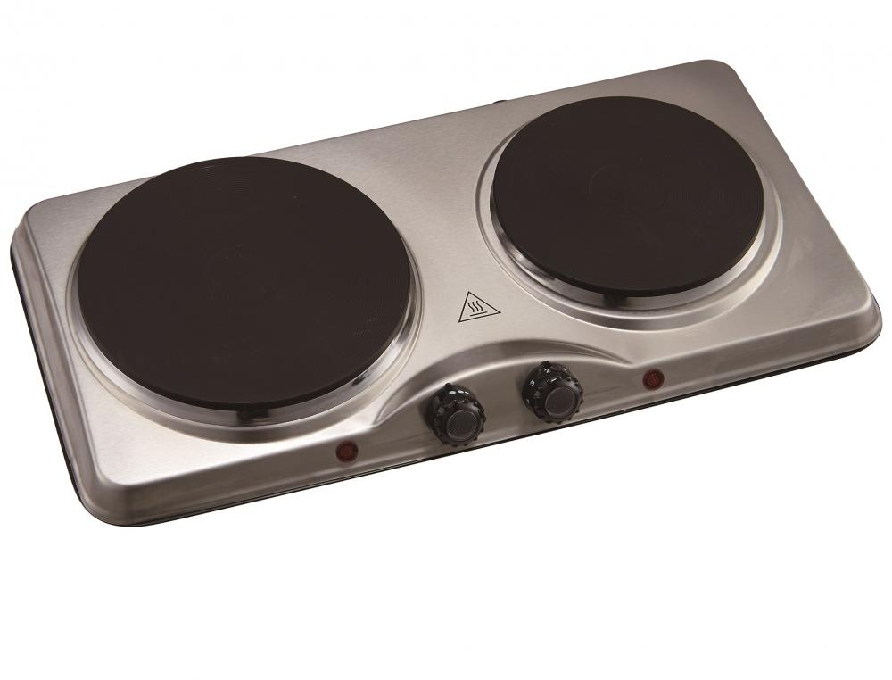 Kitchen Perfected Double Hotplate