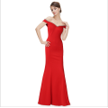 Elegant and elegant retro style with a high-waisted waist and a dress for the wedding party