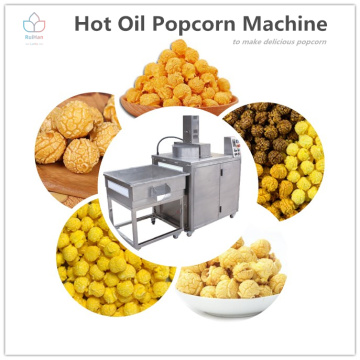 Commercial popcorn machines with 50kg/h
