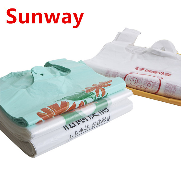 Plastic Bags with Handle