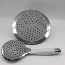 ABS Plastic Show Overhead with Handle Shower Head