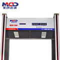 Cel mai vândut Practical Economical 45 Zones Walk through Metal Detector MCD600
