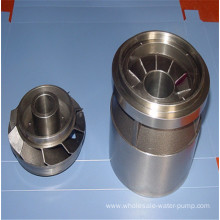Stainless steel leaf guide wheel of oil pump