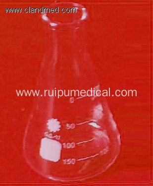 Conical Flask Erlenmeyer with graduations