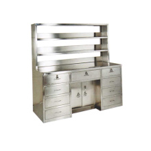 Hospital stainless steel workbench (with reagent rack)