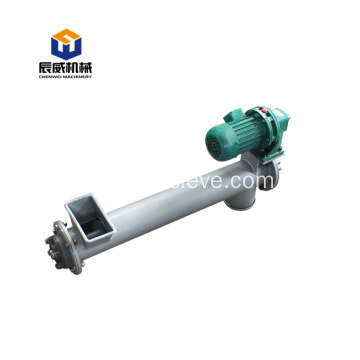 conveying caco tubular limestone screw conveyor
