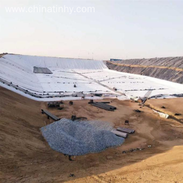 Refuse Landfill Cover 0.75mm HDPE Geomembrane Liner