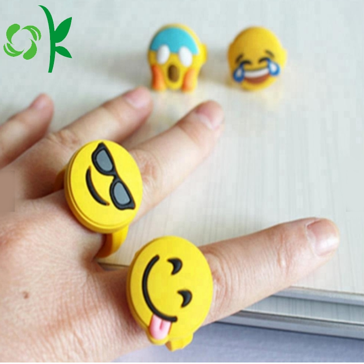 suprised silicone kids ring