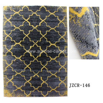 Microfiber Machine Made Carpet With Design