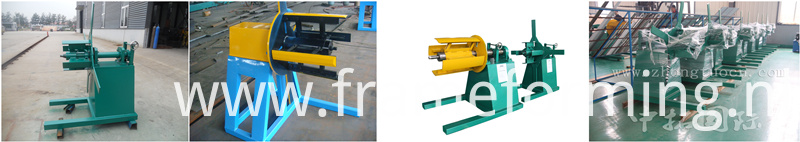 Decoiler System keel roll forming machine