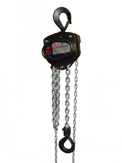 manual stage hoist