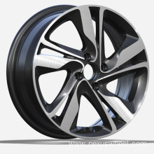 Black Finish Hyundai Replica Wheels