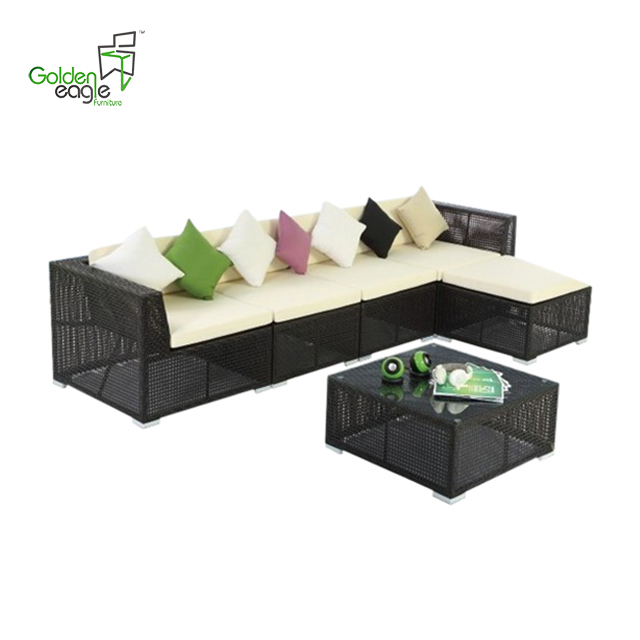 S0225 modular seating garden sofa