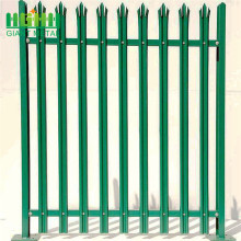 Hot sale reasonable price for Palisade steel fence Details Galvanized Steel W Section Palisade Garden Fence export to Burkina Faso Manufacturer