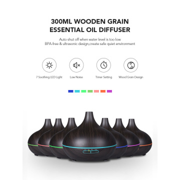 7 Color Air Aroma Essential Oil Diffuser