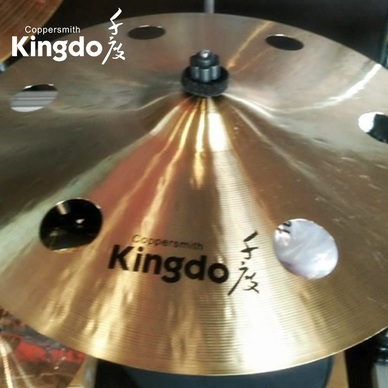 B20 Drum Cymbals With Holes
