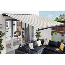 retractable electric out-door awning