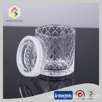Good Quality for Candle Jars Custom Glass Candle Jar With Lid supply to India Manufacturer