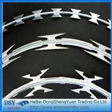 Top Sale Galvanized Razor Barbed Wire