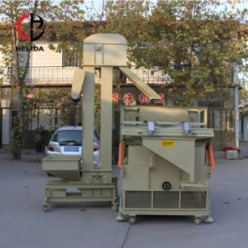 Cereal Grain Seed Gravity Destoner for Seed Cleaning Plant