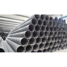 Q235B sch40 carbon ERW LSAW black round steel pipe