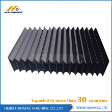Factory making for Plastic Bellow Cover,Rod Bellows Shield Cover,Slideway Bellows Shield Cover Manufacturers and Suppliers in China Plastic Flexible Accordion Guide Shield for Machine export to India Manufacturer