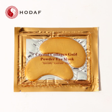 China Gold Supplier for for Eyelash Extension Eye Patches Best moisturizing crystal collagen golden eye mask supply to India Manufacturers