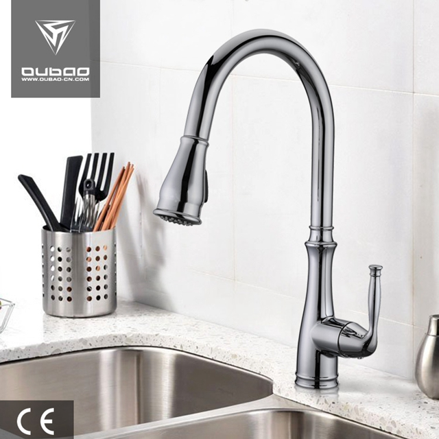 American Style Luxury Kitchen Parts Pull Sink Faucet