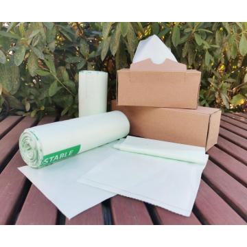 Cornstarch Based 100% Eco Biodegradable Trash Bag