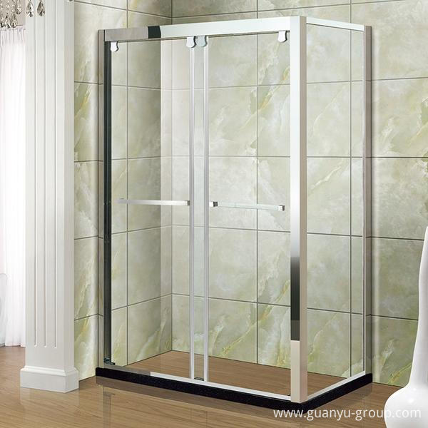 Stainless Steel Simple Shower Room