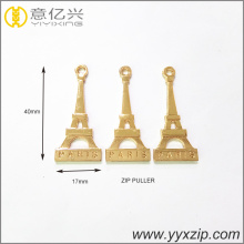 popular decorative plated gold metal building logo puller