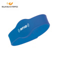 ISO14443A Silicone Rfid Wristband for Access control