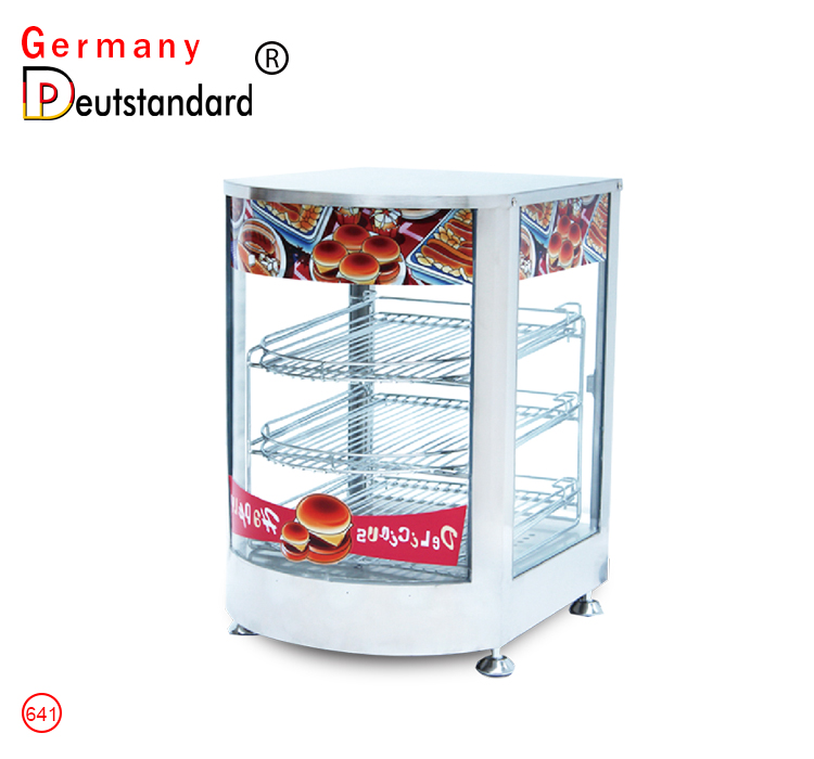 food warmer showcase