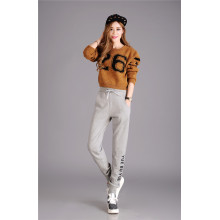 Full length sport trousers women jogger pants
