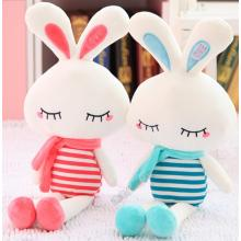 Lovely Striped Rabbit Plush Toy For Children