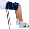 Adjustable cold gel wrap for thigh injury recovery