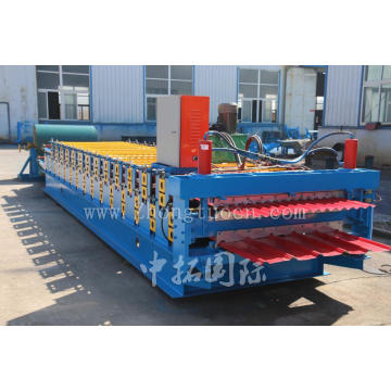Double Layer Zinc Roofing Sheet Roll Forming Machine